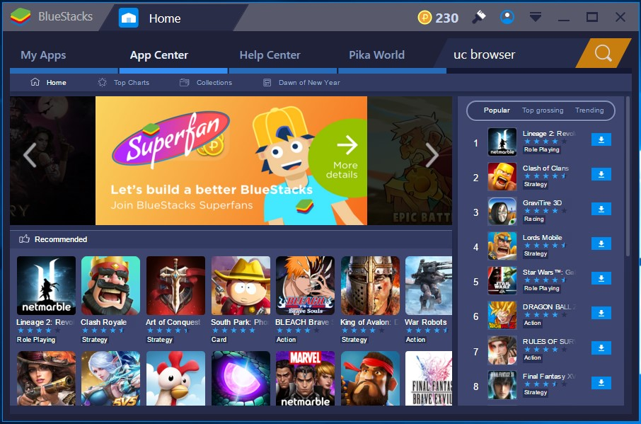 Bluestacks 2 Software