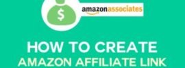 How to Create Amazon Affiliate Link