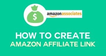 How to Create Amazon Affiliate Link Tutorial