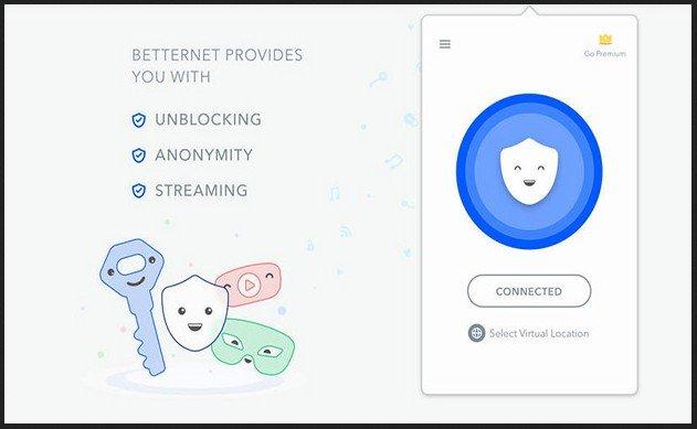 BetterNet VPN for Chrome Browser