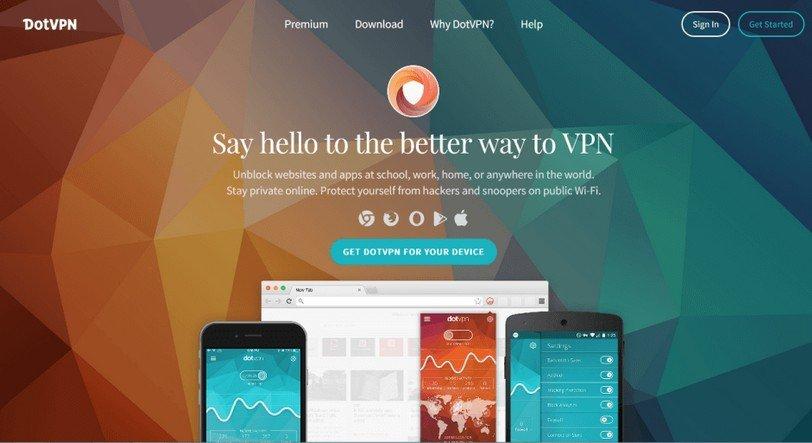 DotVPN for Chrome Browser