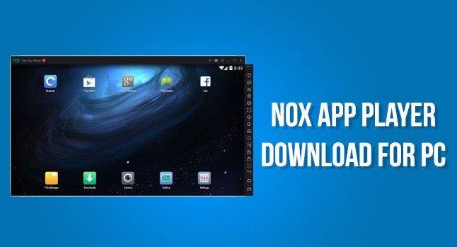 Nox App Player Offline Installer for PC Windows 10/8.1/7
