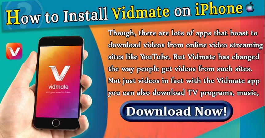 Vidmate for iPhone - How to install vidmate on iPhone, iPad & IOS
