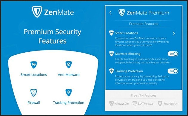 Zenmate VPN for Chrome Browser