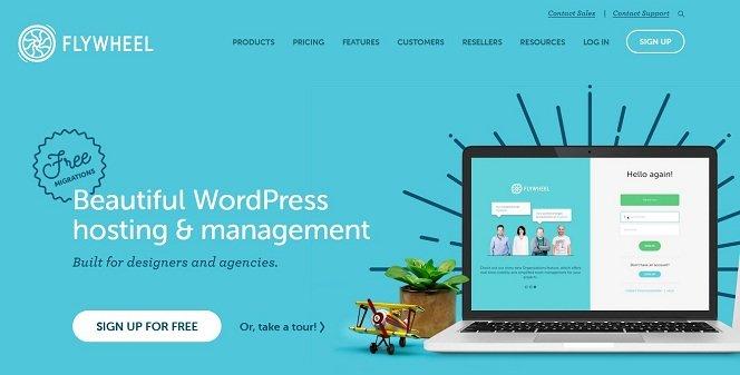 Flywheel Managed WordPress Hosting for Designers and Agencies
