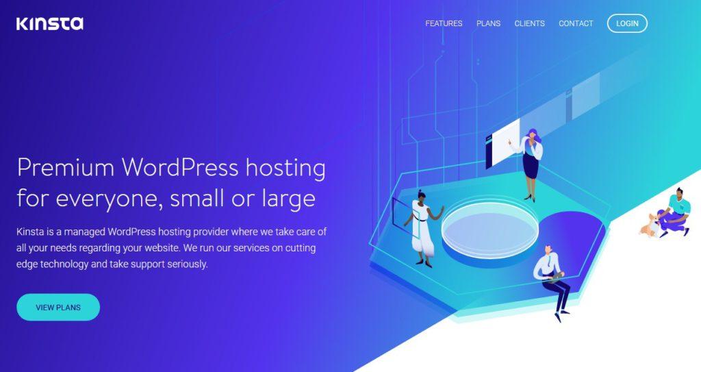 Kinsta Managed WordPress Hosting - Powered By Google Cloud