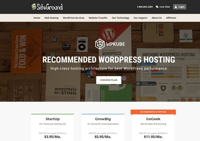 SiteGround WordPress Hosting Top Security and Speed Managed