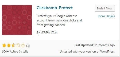 Clickbomb Protect