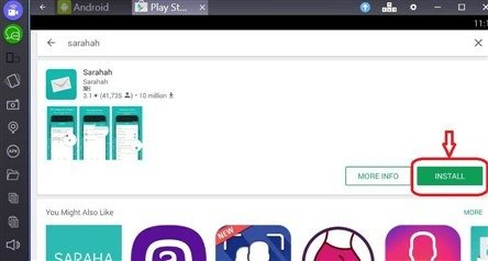 sarahah pc windows 10, 7, 8 mac laptop