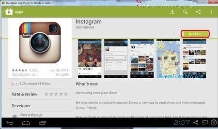 cara membuat akun instagram di PC 3