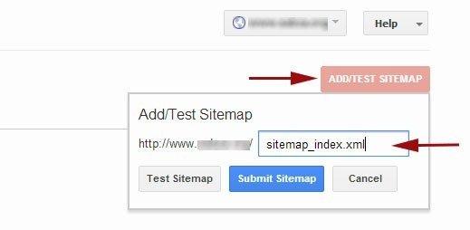 submit sitemap google