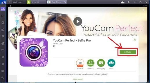 Youcam Perfect for PC free Download – Windows (10/8 1/8/7