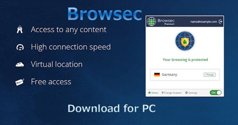 Browsec VPN for PC on Windows 10/7/8/10/8.1/XP/Vista & Mac Laptop