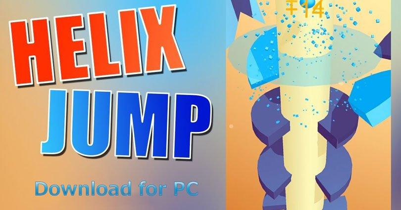 Helix Jump For PC on Windows 10/8/8.1/7/XP/Vista & Mac, Laptop