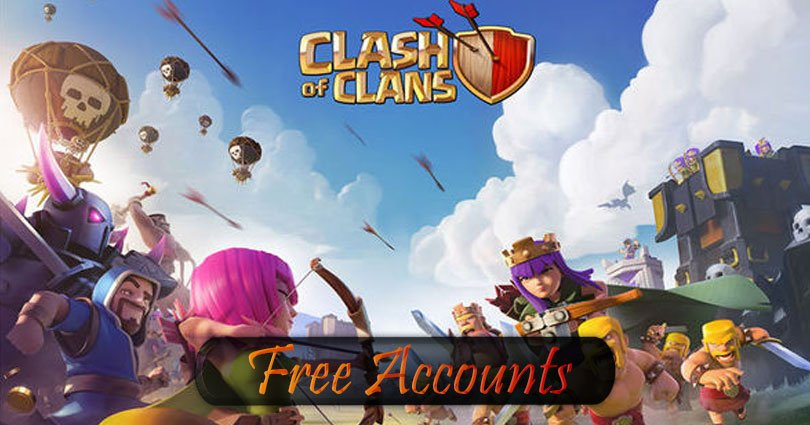 Free Clash of Clans Account Premium 2019