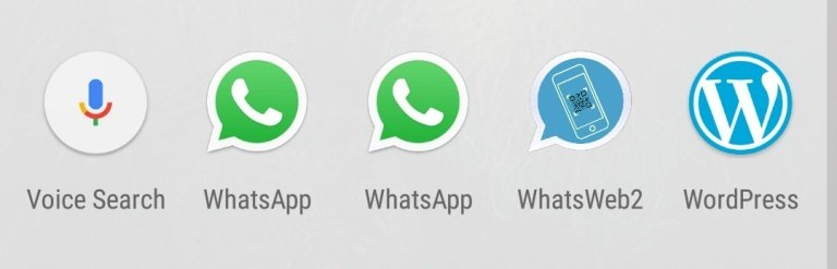 Whatsapp Web App insatalled