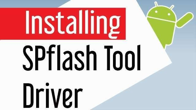 installing sp flash tool