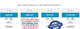 cloudfile premium account