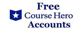 free course hero accounts
