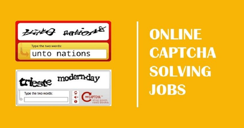 Best 10 Top High Paying Online Captcha Jobs to Earn Money