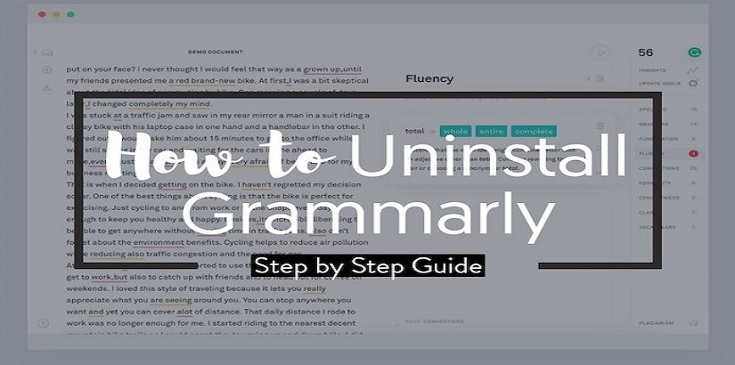 How to Remove Grammarly – (The Definitive Guide)