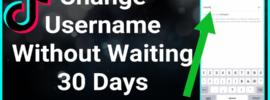 how to change tiktok username before 30 days