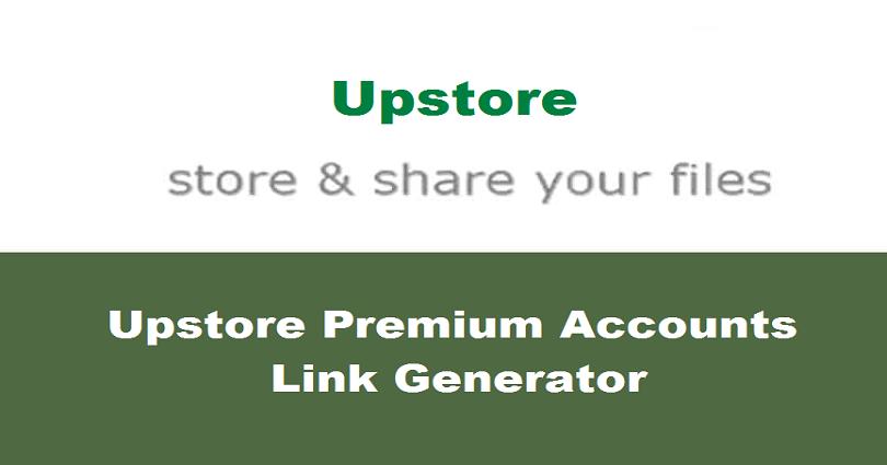 Upstore Premium Accounts 2021