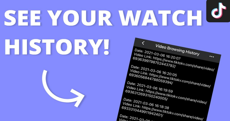 How to See Your Watch History on TikTok