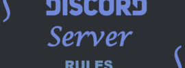 good discord server rules